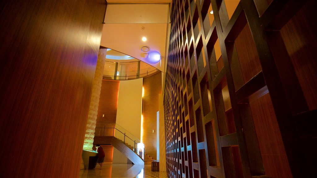 Shinsegae Centum City showing interior views
