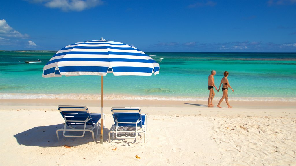 Antigua which includes tropical scenes, general coastal views and a beach