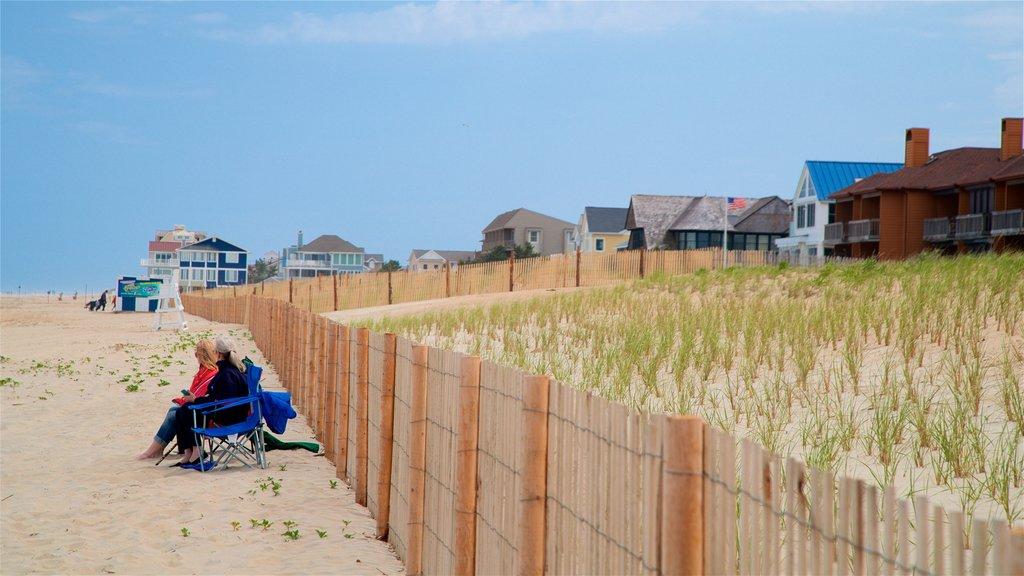 Dewey Beach featuring general coastal views and a beach as well as a couple