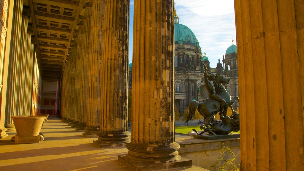 Berlin Cathedral featuring a church or cathedral and religious elements