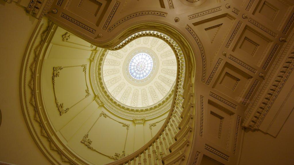 Baltimore mostrando patrimonio de arquitectura y vistas interiores