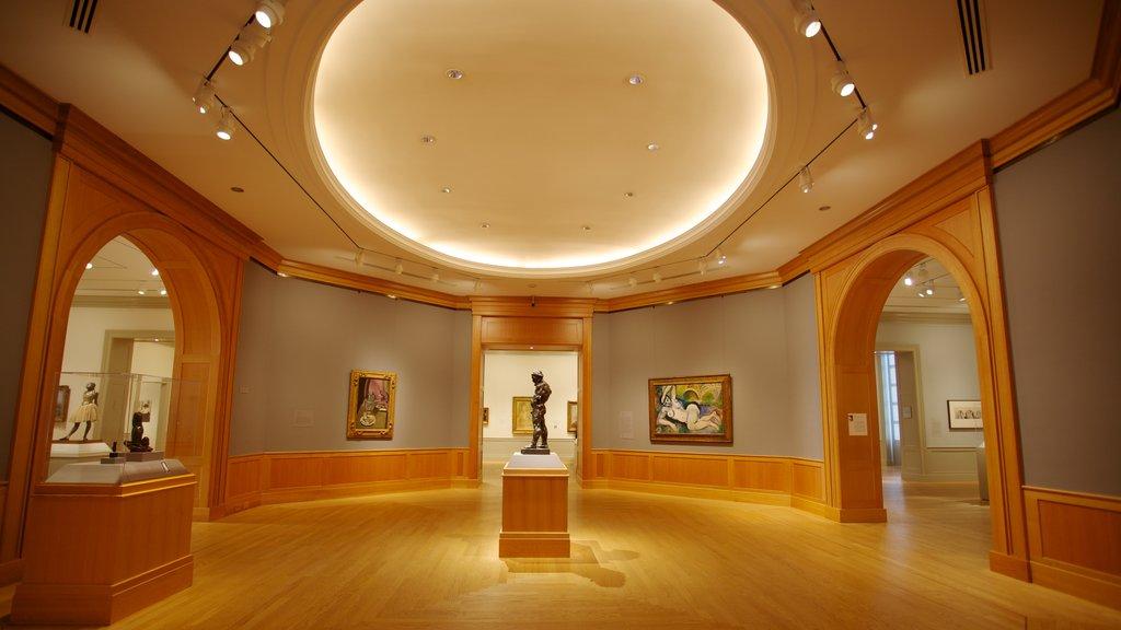 Baltimore ofreciendo arte y vistas interiores