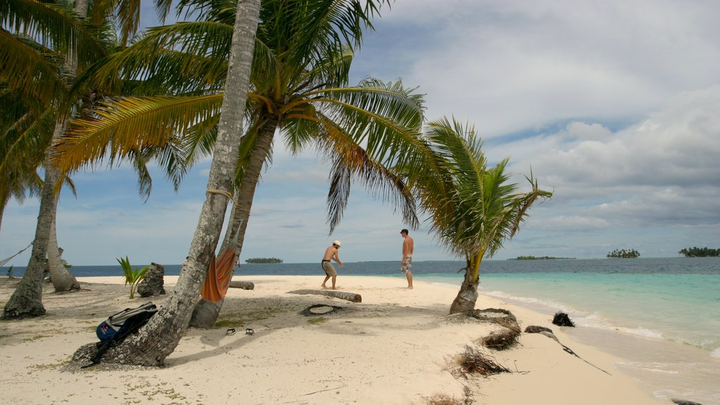 Panama which includes landscape views, a sandy beach and tropical scenes