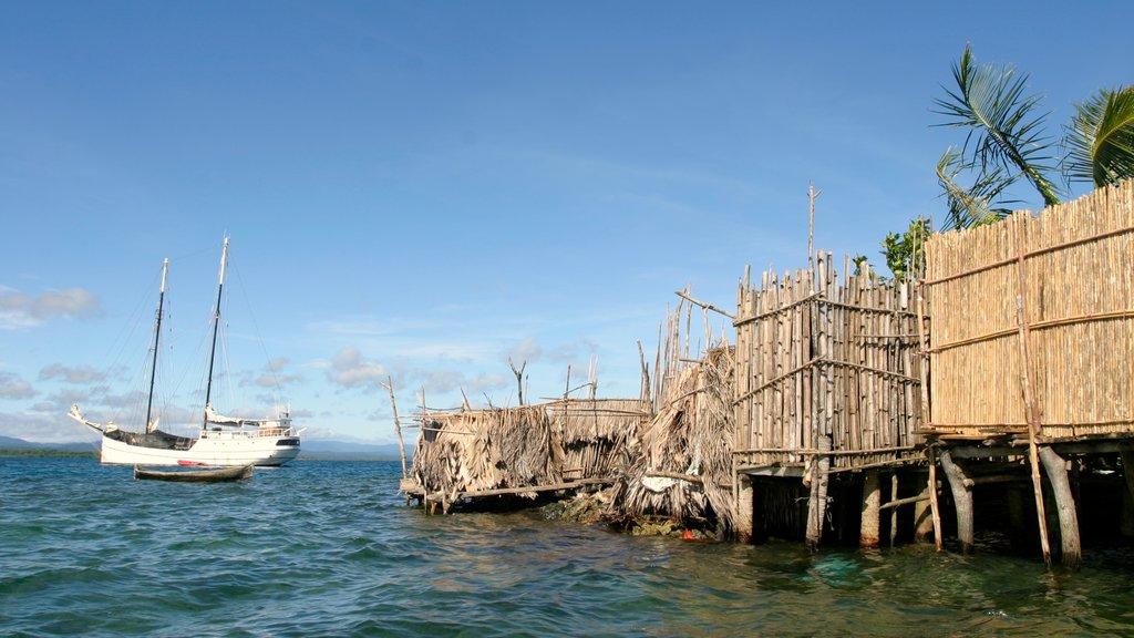 Panama showing boating, general coastal views and a bay or harbor