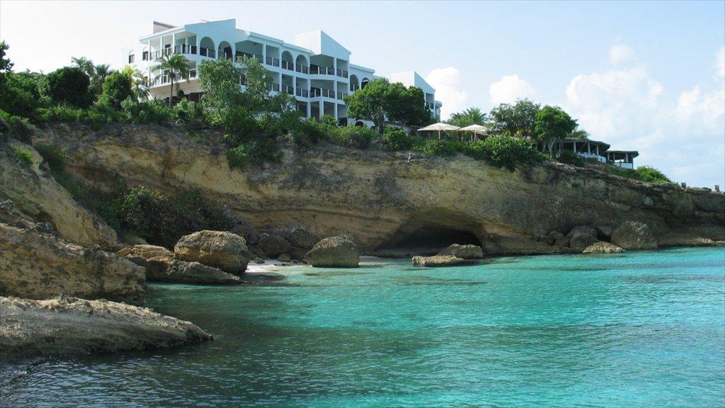 Anguilla featuring general coastal views, rocky coastline and tropical scenes