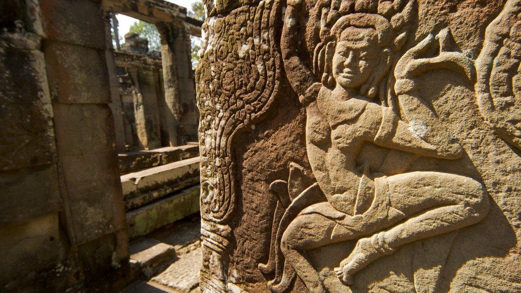 Camboya ofreciendo elementos del patrimonio