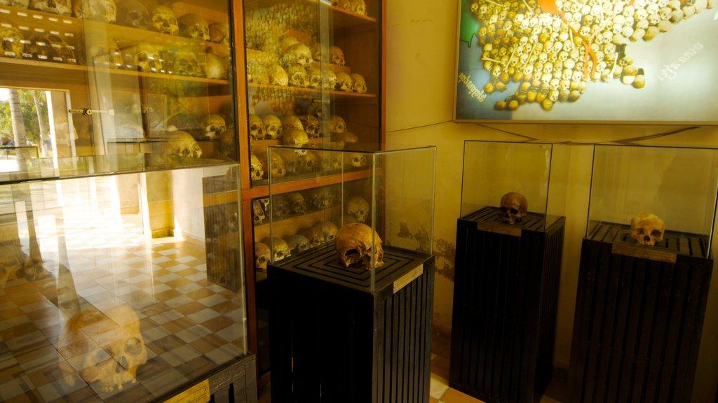 Phnom Penh showing interior views