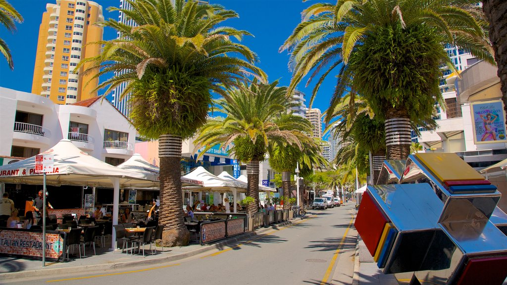 Surfers Paradise which includes outdoor art