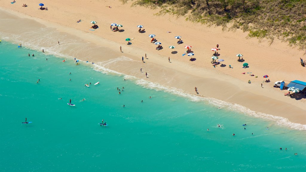 Broome which includes general coastal views, swimming and a sandy beach