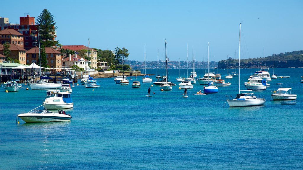 Manly which includes a coastal town and a bay or harbor