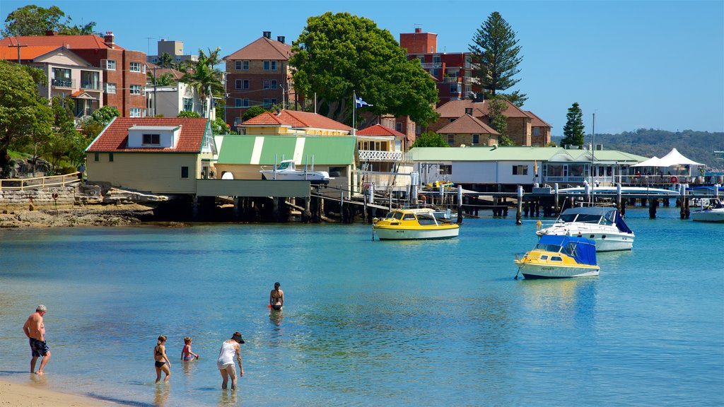 Manly showing swimming, a coastal town and a bay or harbor