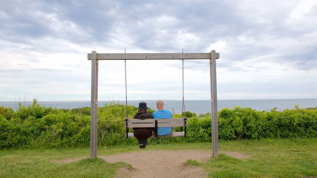 Montauk Point which includes general coastal views as well as a couple