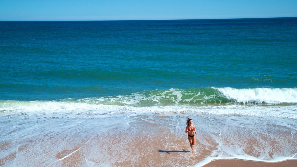 Montauk featuring swimming, a beach and general coastal views