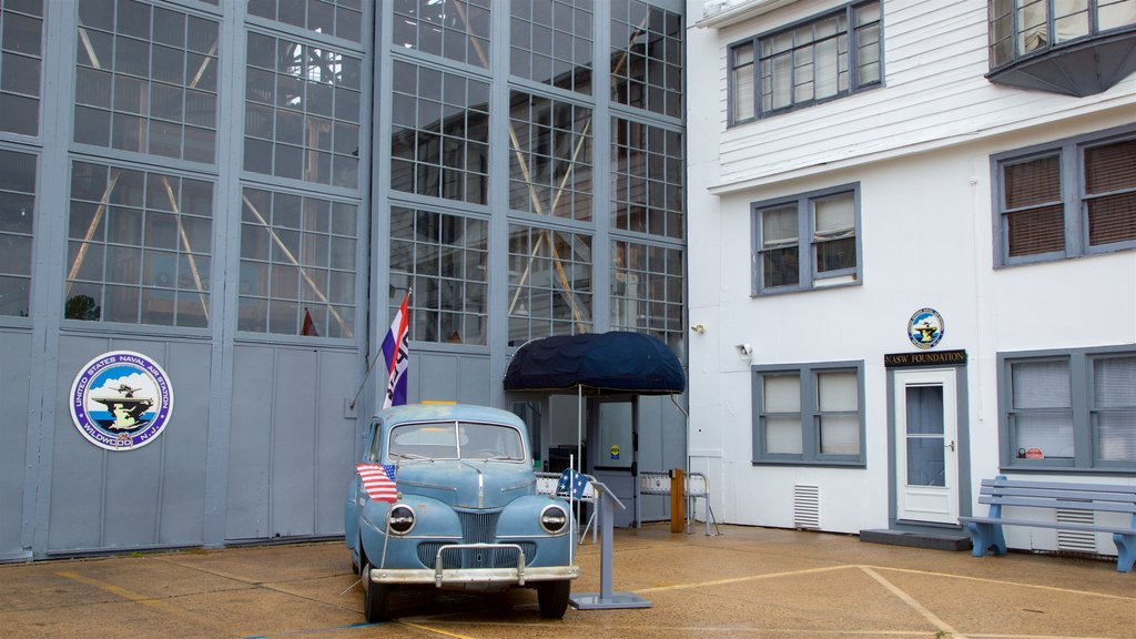Naval Air Station Wildwood Aviation Museum showing heritage elements