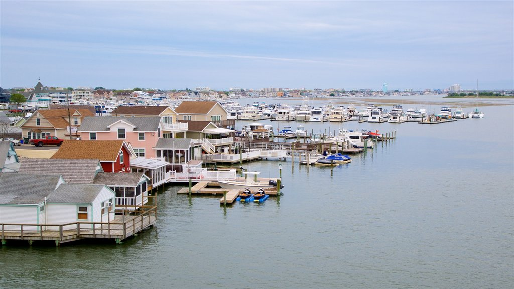 Cape May - Wildwood showing general coastal views and a bay or harbor