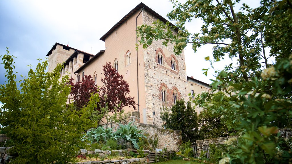 Rocca di Angera which includes a garden and heritage elements
