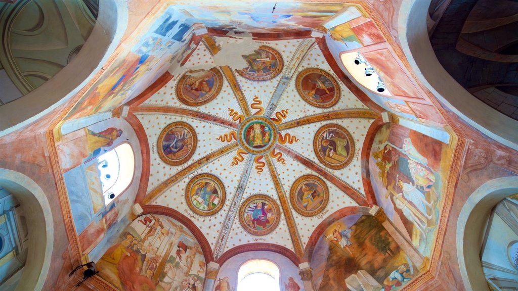 Church of Saints Gervase and Protaso which includes interior views, heritage elements and art