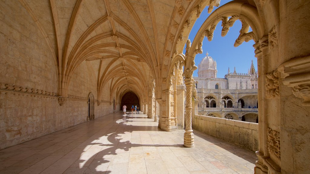 Jeronimos Monastery featuring heritage architecture and heritage elements