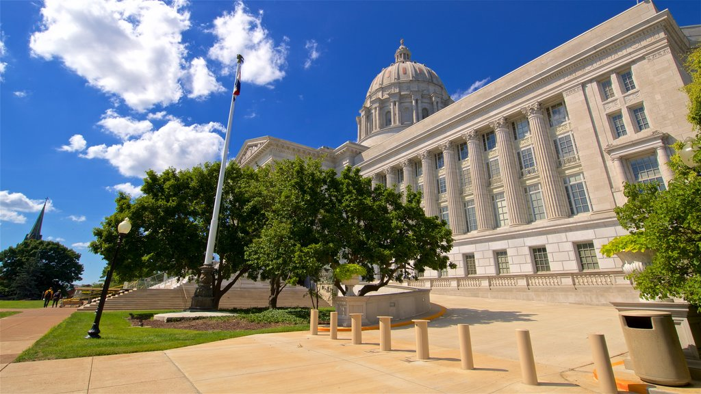 Missouri State Capitol which includes heritage architecture