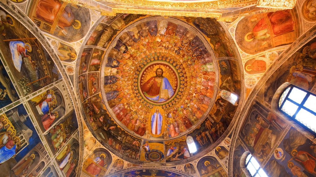 Basilica del Duomo featuring art, religious aspects and heritage elements