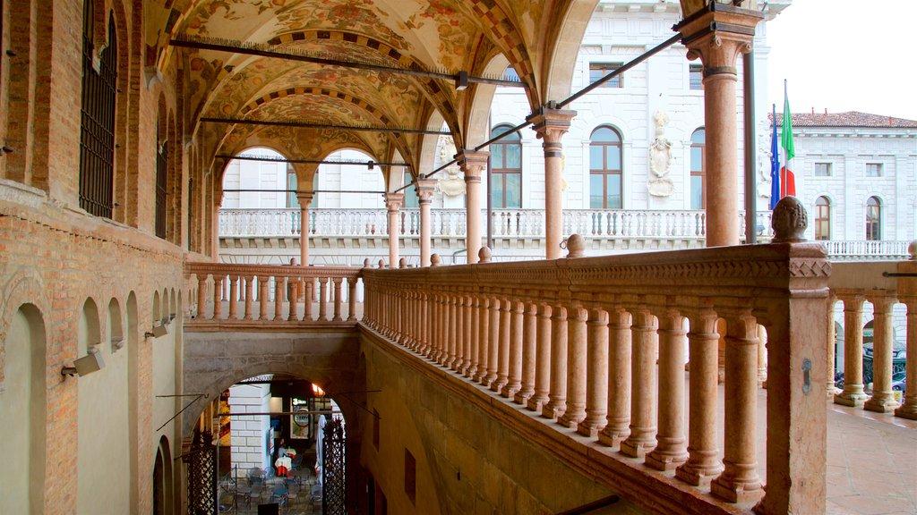 Palazzo della Ragione showing heritage elements
