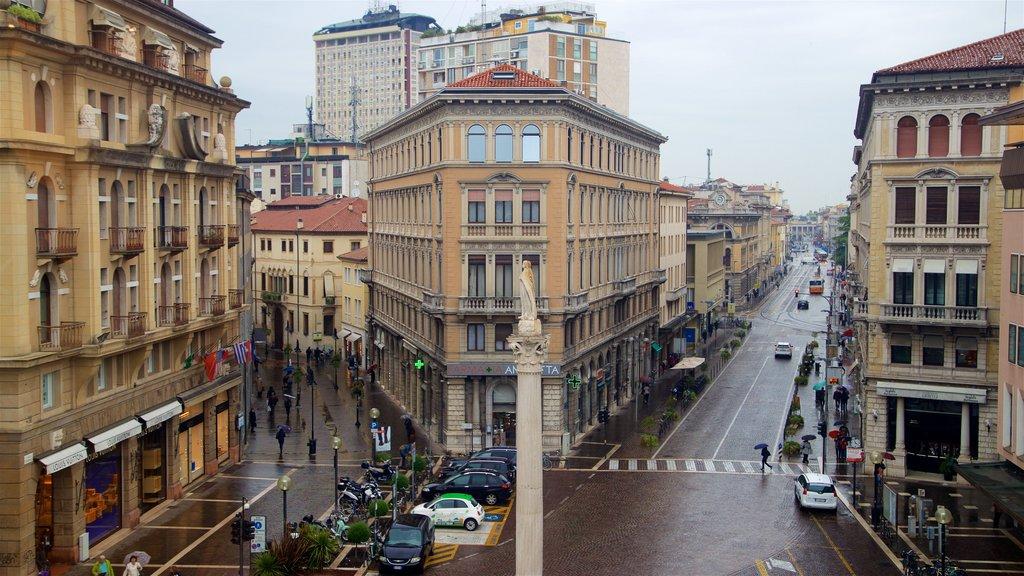 Historic Centre showing central business district, landscape views and a city