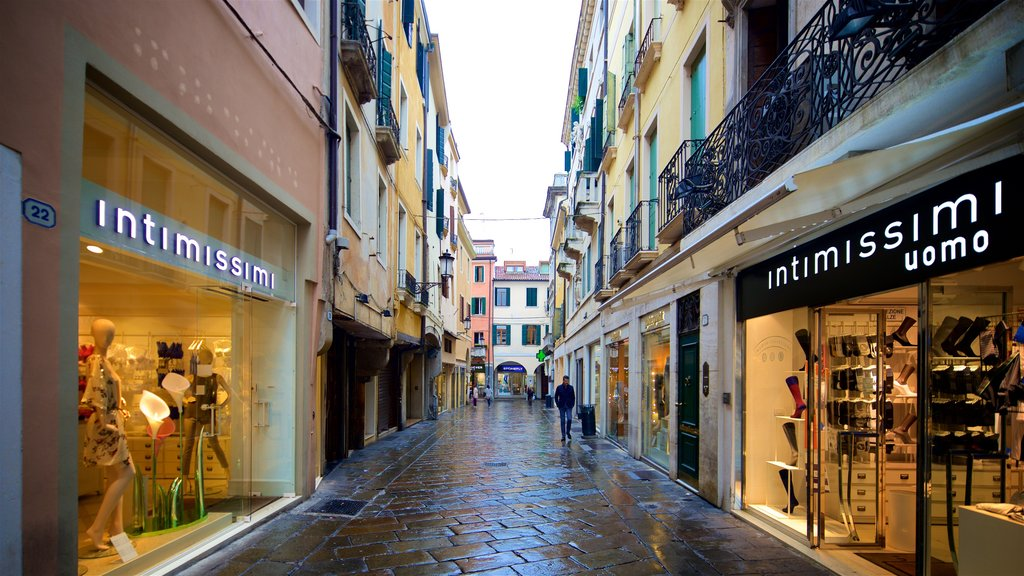 Historic Centre which includes signage and shopping