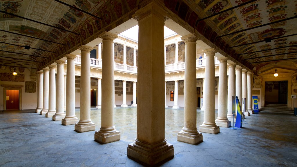 Palazzo del Bò which includes heritage elements and interior views