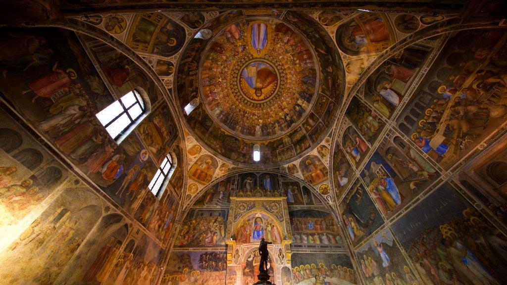 Basilica del Duomo which includes heritage elements, interior views and art