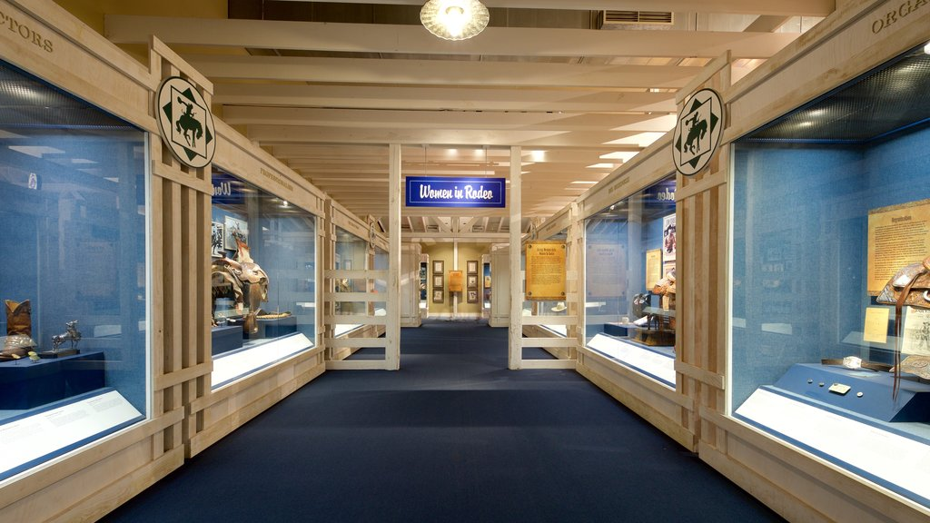 National Cowboy and Western Heritage Museum showing interior views