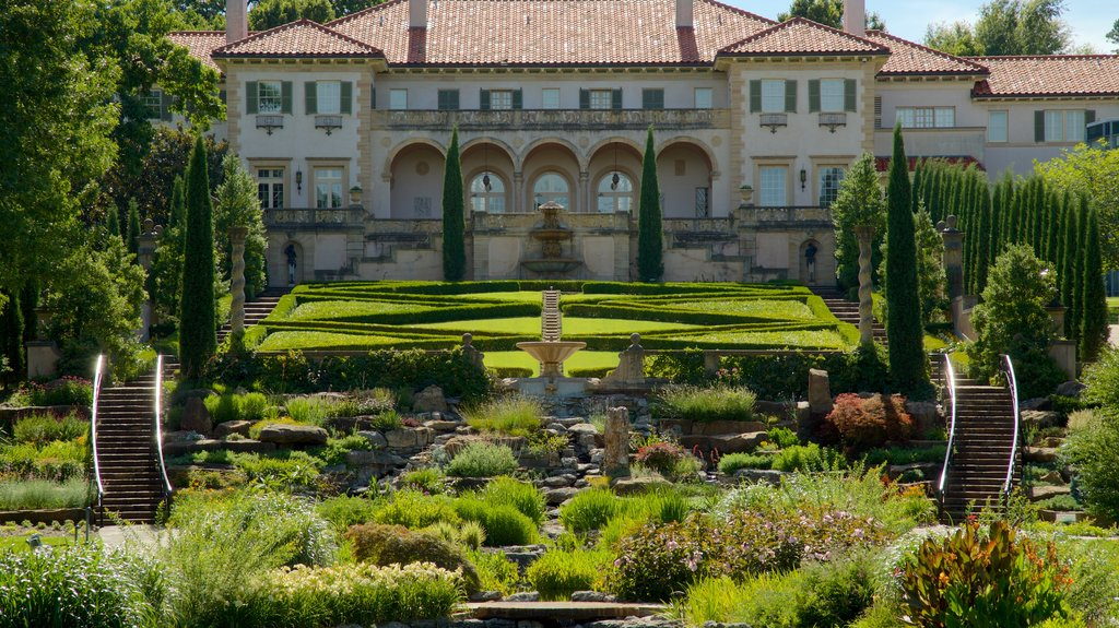 Philbrook Museum of Art which includes a park