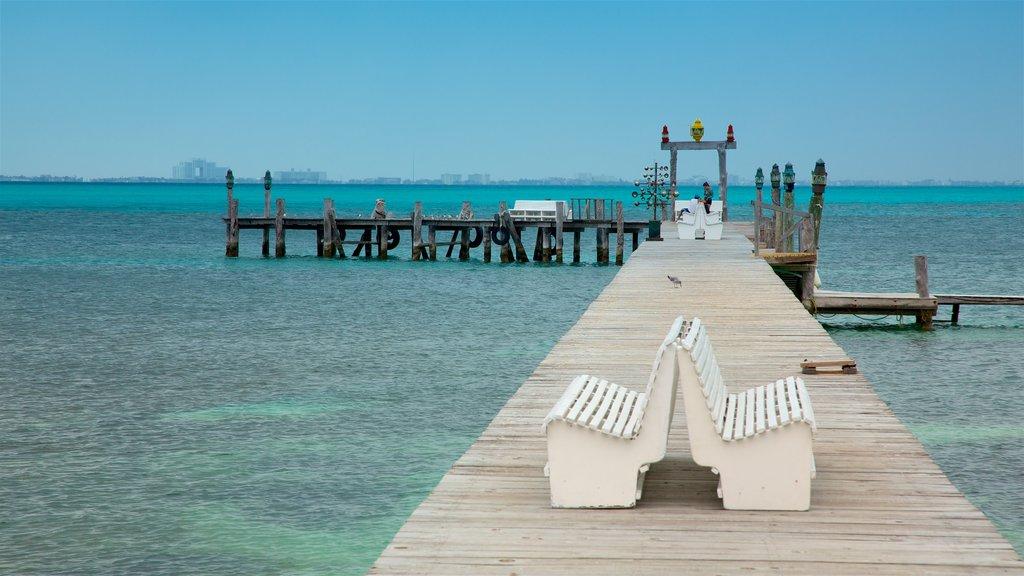 Isla Mujeres showing tropical scenes and general coastal views