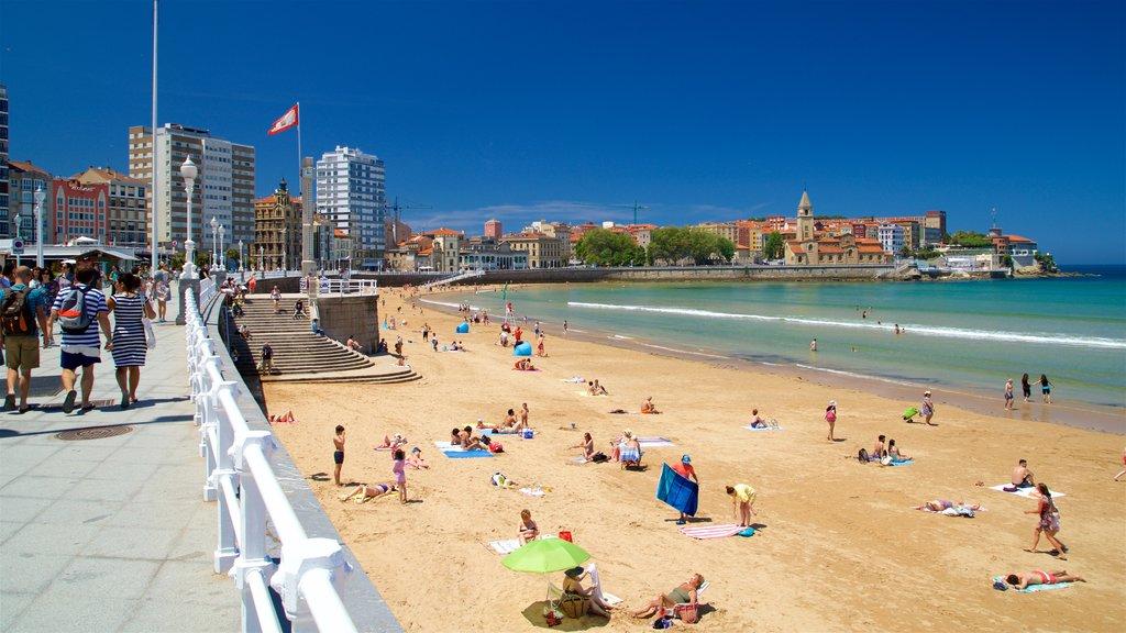 San Lorenzo Beach featuring a city, general coastal views and a coastal town
