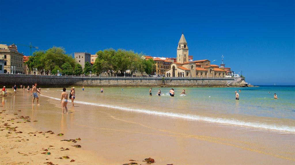 San Lorenzo Beach featuring swimming, general coastal views and a sandy beach