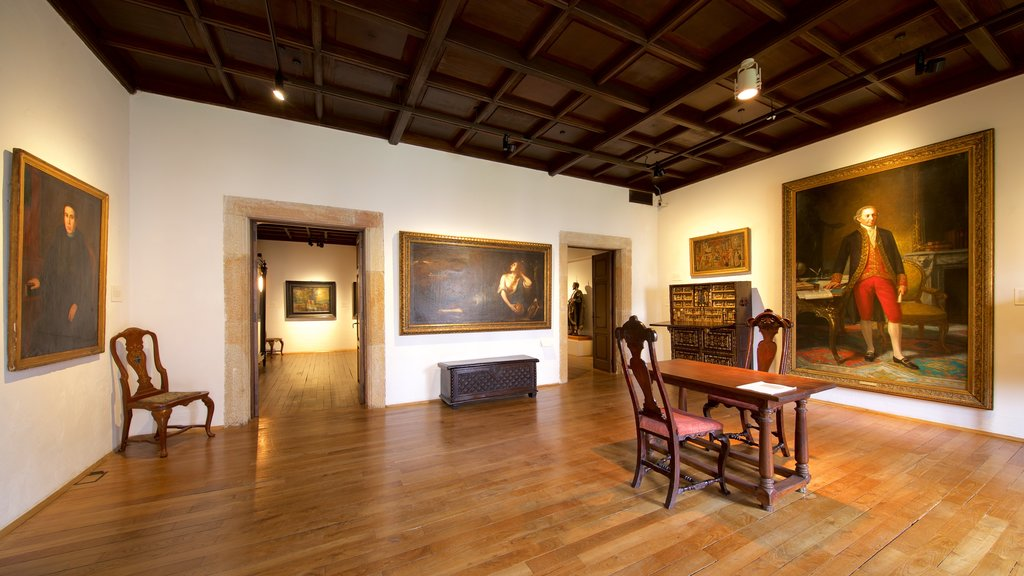 Jovellanos Birthplace Museum featuring art and interior views