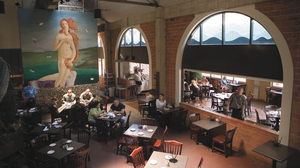 Corpus Christi which includes interior views, cafe lifestyle and a bar