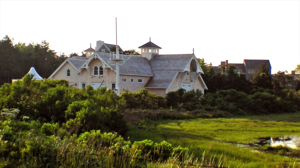 Nantucket showing a house and heritage architecture