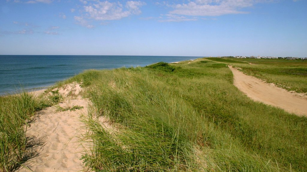 Nantucket featuring landscape views, general coastal views and island views