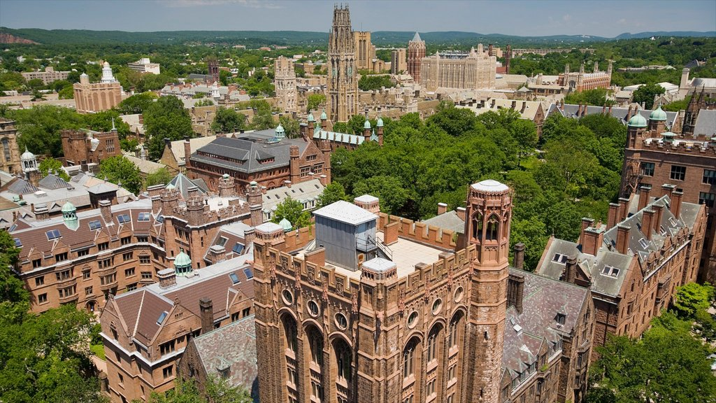 New Haven featuring a city and heritage architecture