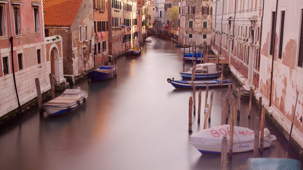 Venice featuring heritage architecture, a city and boating