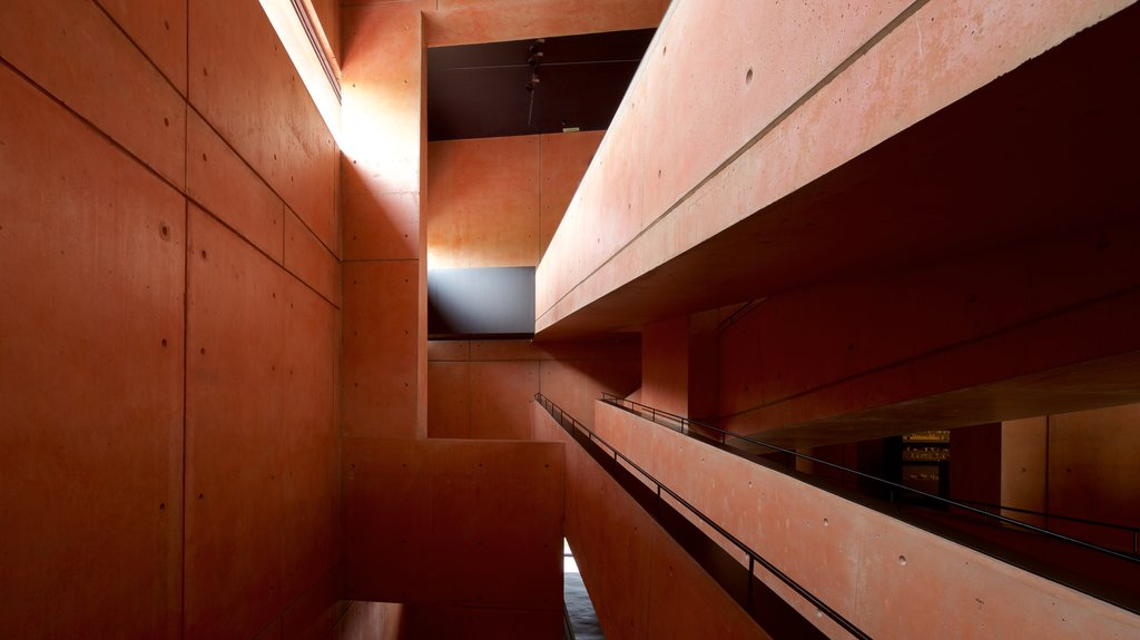 Jorge Oteiza Museum featuring interior views
