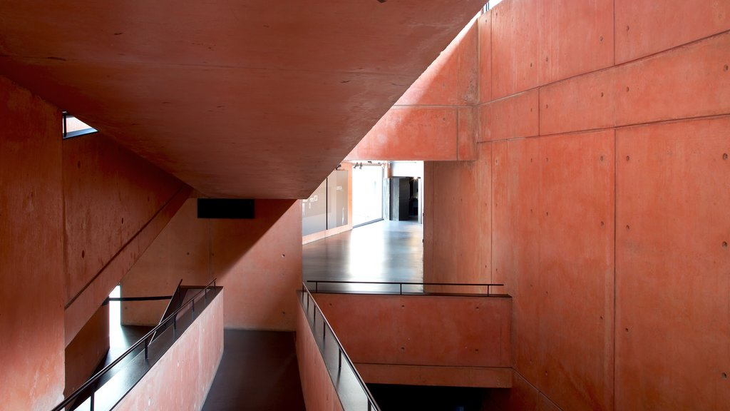 Jorge Oteiza Museum which includes interior views