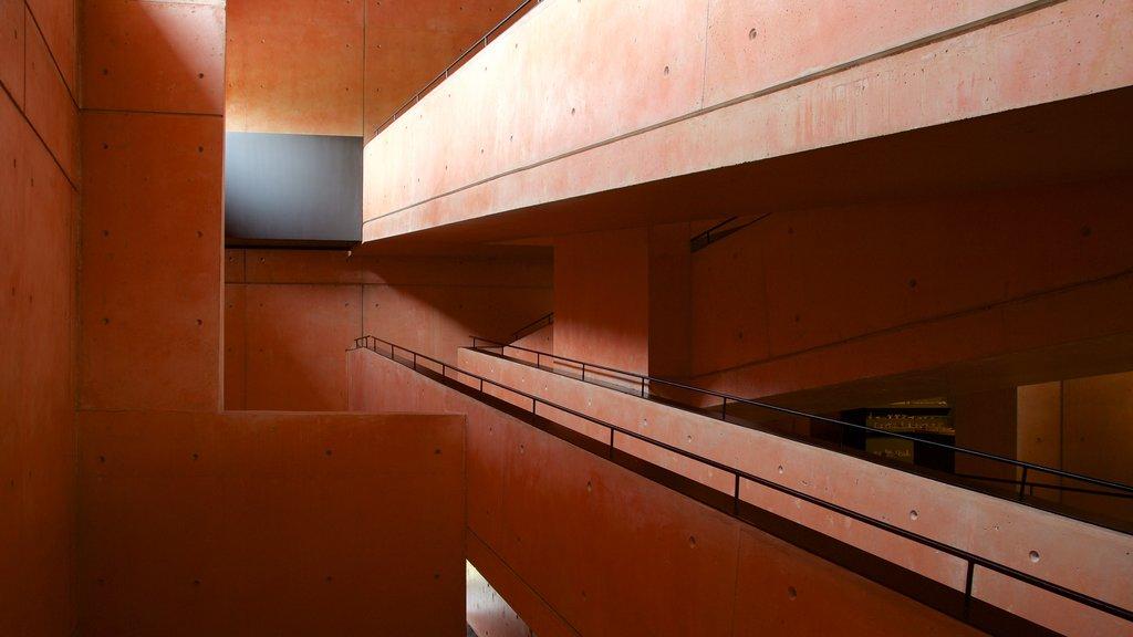 Jorge Oteiza Museum showing interior views