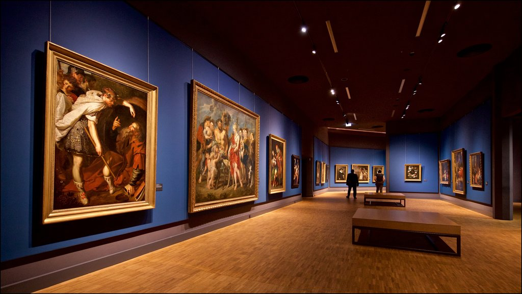 Hessisches Landesmuseum featuring religious aspects, interior views and art
