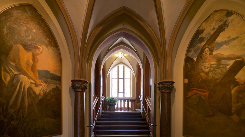 Rathaus featuring religious elements, art and heritage elements