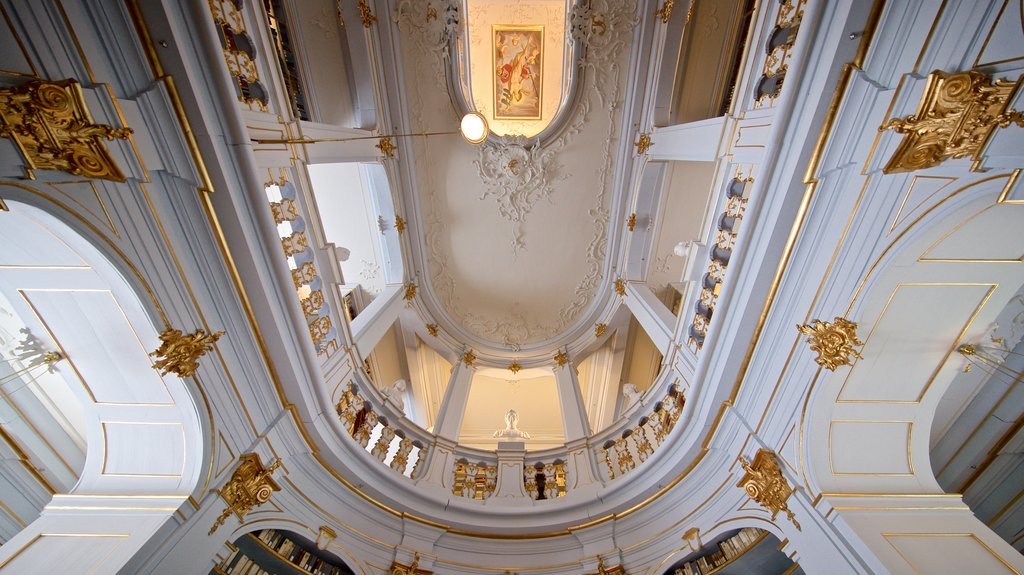 Duchess Anna Amalia Library featuring heritage elements and interior views