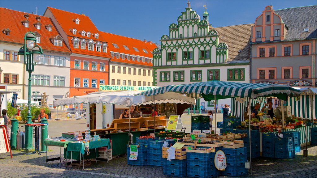 Weimar featuring markets and heritage elements