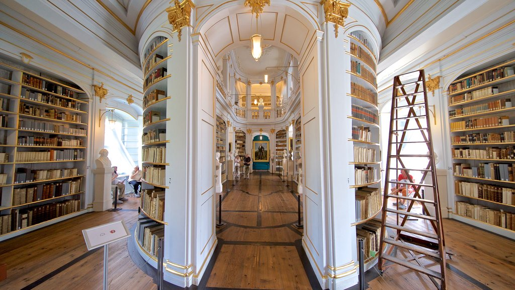 Duchess Anna Amalia Library showing heritage elements and interior views