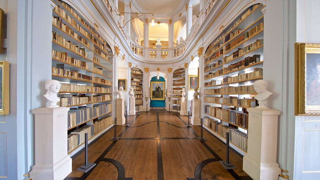 Duchess Anna Amalia Library which includes interior views and heritage elements