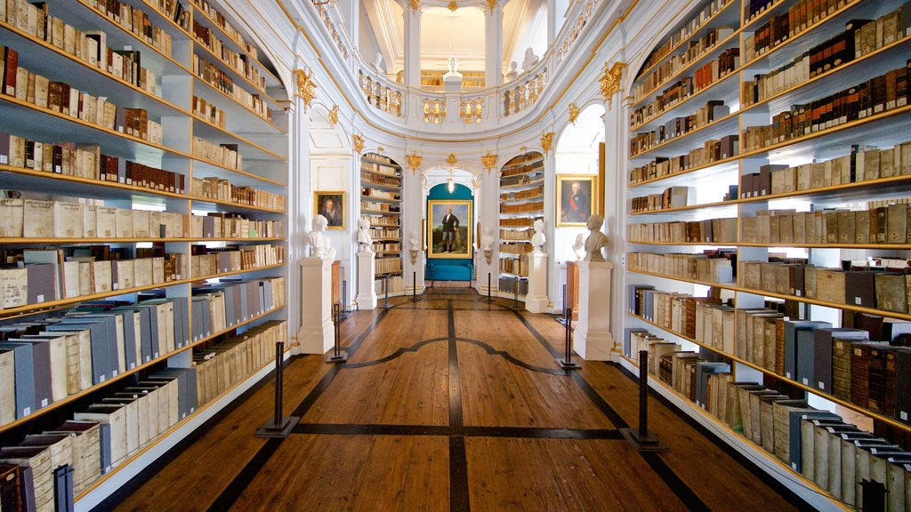 Duchess Anna Amalia Library showing art, interior views and heritage elements